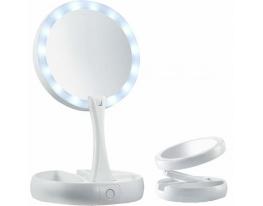 Зеркало с LED подсветкой и зарядкой от USB фото 2