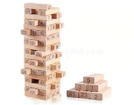 Деревянная головоломка Башня фото