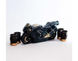 Подарочный набор для алкогольных напитков Байк фото