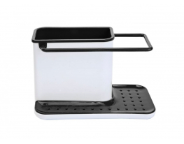 Кухонный органайзер 3 в 1 Белый/чёрный фото