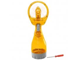 Ручной вентилятор с увлажнителем Water Spray Fan Оранжевый фото