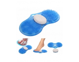 Массажный коврик для ног в душе (ванной) с пемзой фото