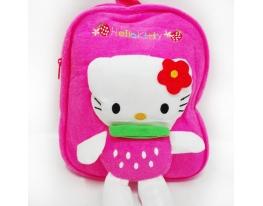 Рюкзак детский с игрушкой-аппликацией Hello Kitty фото