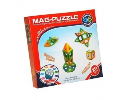 Магнитный развивающий 3D конструктор Mag Puzzle 20 Деталей фото, купить, цена