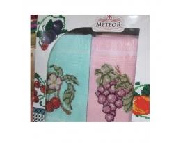 Подарочный набор полотенец Вишня и виноград фото