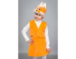 Детский карнавальный костюм Лисичка фото 1