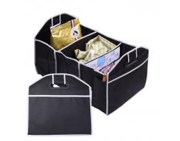 Сумка - органайзер в багажник автомобиля, кофр складной для покупок, инструментов фото
