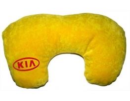 Подушка для шеи KIA желтый фото