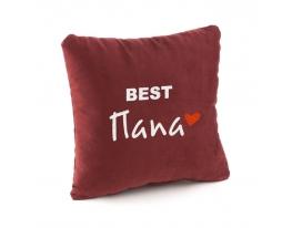 Подушка подарочная Лучший Папа фото