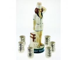 Подарочный набор для напитков Медсестра фото