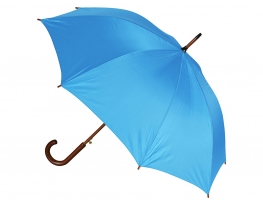 Зонт - трость Антишторм Хамелеон нейлон Голубой фото