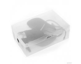 Прозрачная коробка для обуви Трафарет С фото