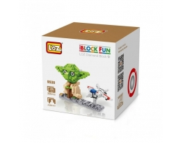 Конструктор LOZ 9530 Star Wars Diamond Block iBlock Fun Йода фото