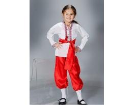 Детский карнавальный костюм Украинец фото