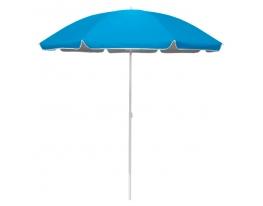 Пляжный зонт Голубой 2 м с наклоном нейлон фото