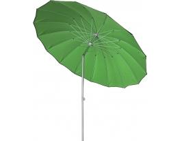 Пляжный зонт круглый с наклоном Зеленый фото