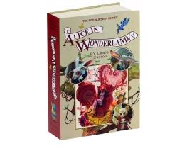 Книга - сейф со страницами Алиса в Стране Чудес фото