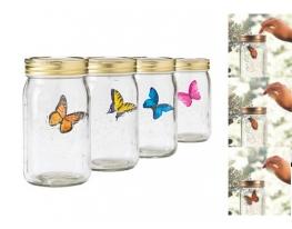 Электронная бабочка в банке Butterfly фото