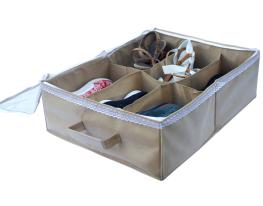 Органайзер для обуви на 6 пар бежевый фото