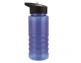 Бутылка для воды, носик- трубочка, 550 мл фото