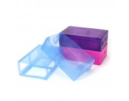 Набор из 3 коробок для обуви Ультрамарин С фото