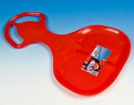 Санки - ледянка Лопатка большая красная Marmat фото