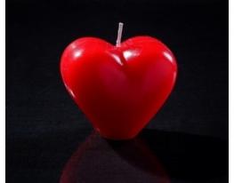 Свеча Сердце фото