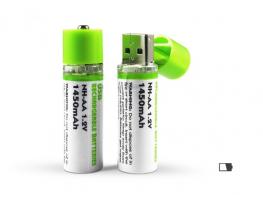Вечная аккумуляторная батарейка АА 1450mAh фото