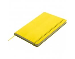 Блокнот на резинке Kiel Желтый