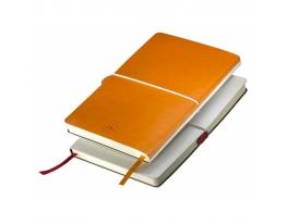 Бизнес-блокнот на резинке Franky Оранжевый