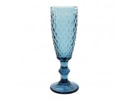 Бокал для шампанского VINTAGE синий, 160 мл. look 704 фото