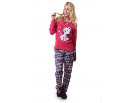 Пижама комплект бриджи и футболка Интерлок фото