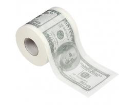 Туалетная бумага 100 долларов фото