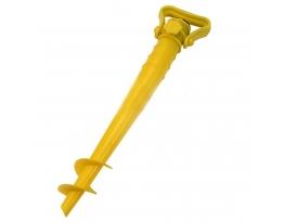 Бур для пляжного зонта 39 см. D 2.5 см. желтый фото 1