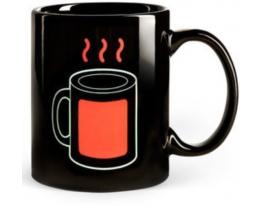 Чашка-хамелеон Горячий чай фото