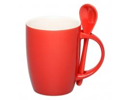 Чашка с ложкой Original Red