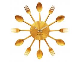 Настенные часы Вилки-Ложки Golden Fork фото