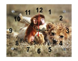 Часы настенные Обезьянка в Сафари фото