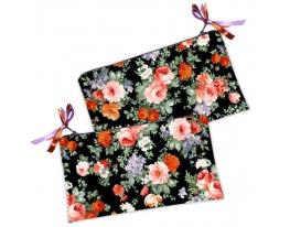 Косметичка-кошелек Цветы фото