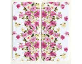 Виниловая наклейка для iPhone 5/5s Цветы + заставка фото