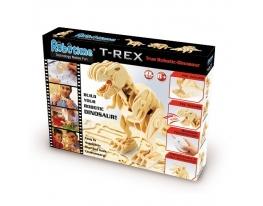 Деревянный 3D конструктор «Динозавр T-Rex» на радиоуправлении фото