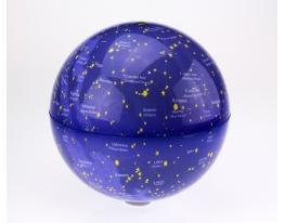 Глобус вращающийся Созвездия с подсветкой, 20 см фото