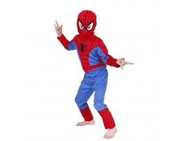купить Детский карнавальный костюм Спайдермен объемный