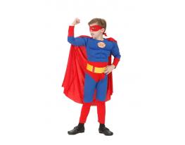 Детский карнавальный костюм Супермен объемный фото 1