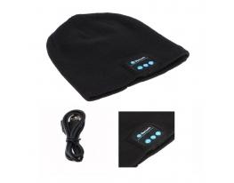 Зимняя шапка со Bluetooth-гарнитурой Серая фото