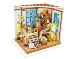 Кукольный домик «сделай сам». «Швейная мастерская» фото