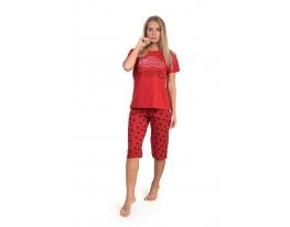 Пижама с короткими рукавами красный Дальмина EMRE фото