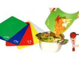 Кухонная гибкая доска (подходит для керамических ножей) фото