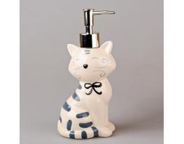 купить Дозатор для мыла Белый кот