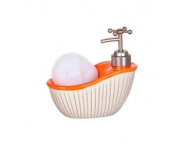 купить Дозатор для мыла с мочалкой Роскошная ванна
